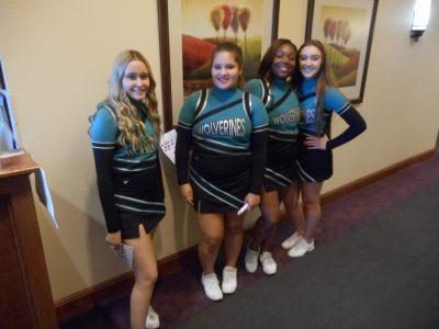 DVHS Cheerleaders