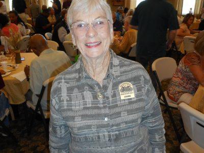 Joanne Bilbo- Antioch Historical Society Board member and Antioch Sports Legends General Board memeber