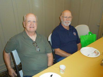 Bill Fraga and Bob Martin Antioch Historical Board Members