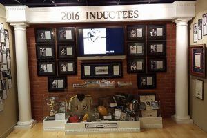 2015 Inductee's Display Cases Unveiled