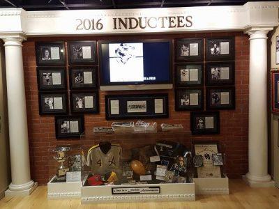 2016 Hall of Fame Wall