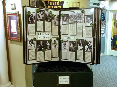 Past Inductees Kiosk