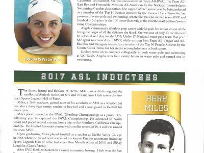 2017 Inductees Angela Lindsay and Herb Miles pg 11