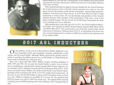 2017 Inductees Chuck Stapleton and Ryan Walker pg 13