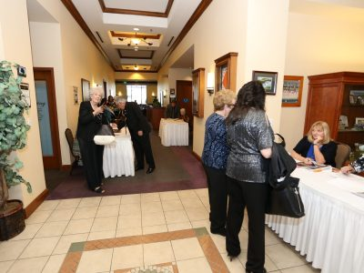2017 Gala Entrance at the Lone Tree Golf Course and Event Center