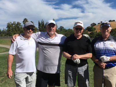Team Inductee AHS 1970 Baseball Vern Martin, Ron Bradley, ASL Sponsor Bob Linschide, 2015 Inductee and Alumni President Steve Parks
