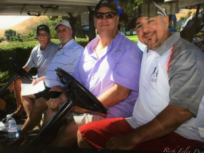 In the foursome Brian Sweeney Sr. Brian Sweeney Jr. Mike Forige and Jim Keith.