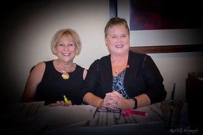 Gala Dinner Chairperson Debbie Walls and AUSD Board Member Diane Gibson-Grey