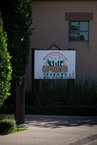 Enterance to the Lone Tree Golf and Event Center