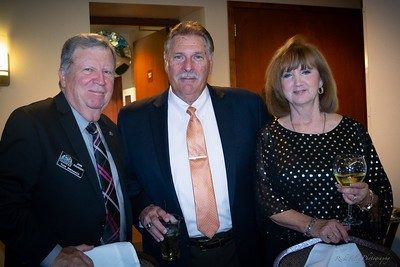 Founder Tom Menasco, Dale and Becky Manning, parents of 2008 Inductee Rachelle Manning