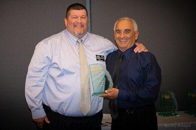 2018 Inductee Dr. Sean Ponce and AHS AD Steve Sanchez