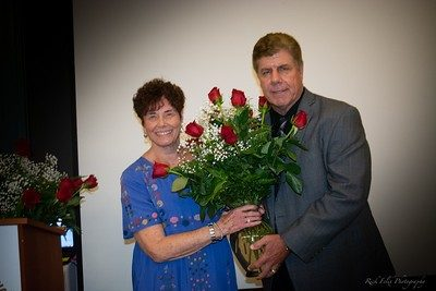 ASL Office Volunteer Gayle Autentico and Founder Eddie Beaudin