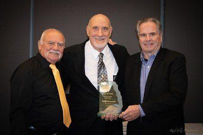 2010 Inductee Ron Morelli, 2018 Inductee Mike Pirozzoli and 2013 Inductee John Joesph