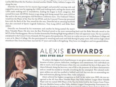 Bill Douville and Alexis Edwards Bios and Photos