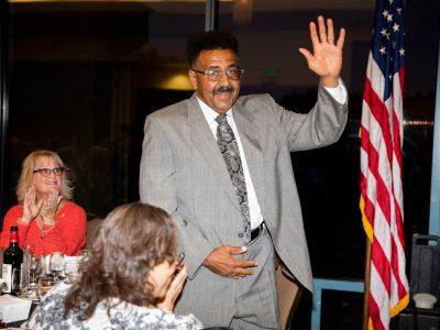 Dwayne Eubanks, Antioch Historical President Elect.