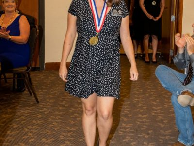 Antioch High School Cross Country, 2019 Inductee Christine Perez.