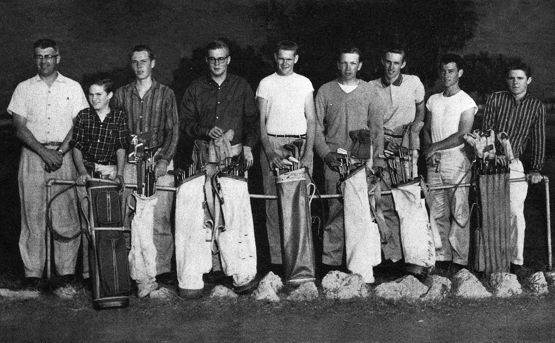 1957 Antioch High School Golf Team