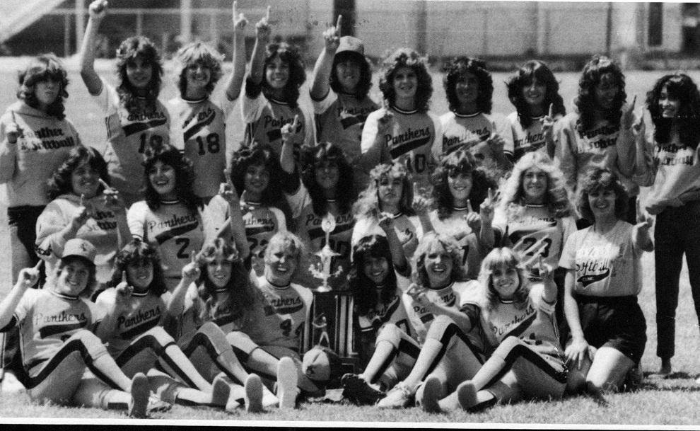 1984 Antioch High School Girls' Softball Team